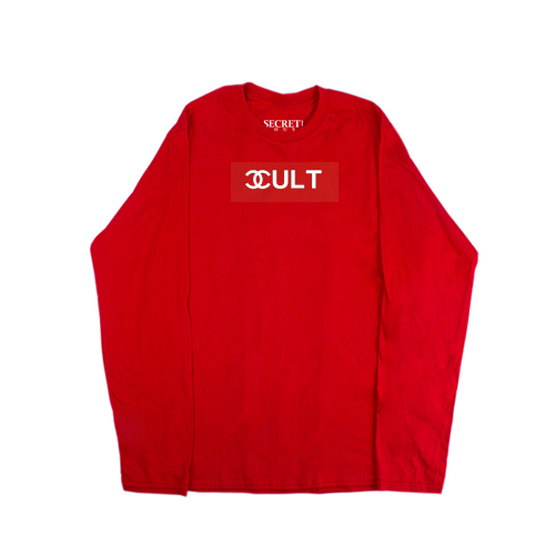 CULT LONG SLEEVE RED