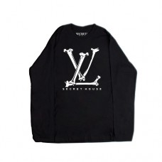 LV BONES LONG SLEEVE BLACK