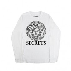 MEDUSA SECRETS LONG SLEEVE WHITE
