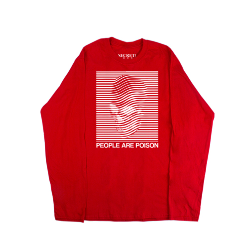 POISON LONG SLEEVE RED