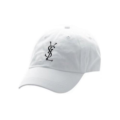 YSL BONES WHITE HAT